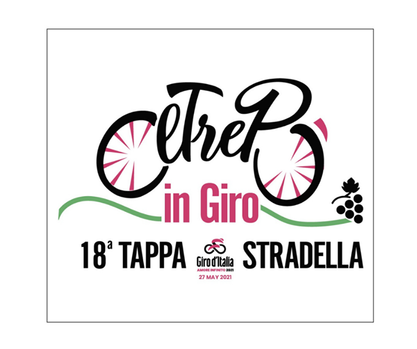 Logo tappa giro d'Italia 2021 Stradella
